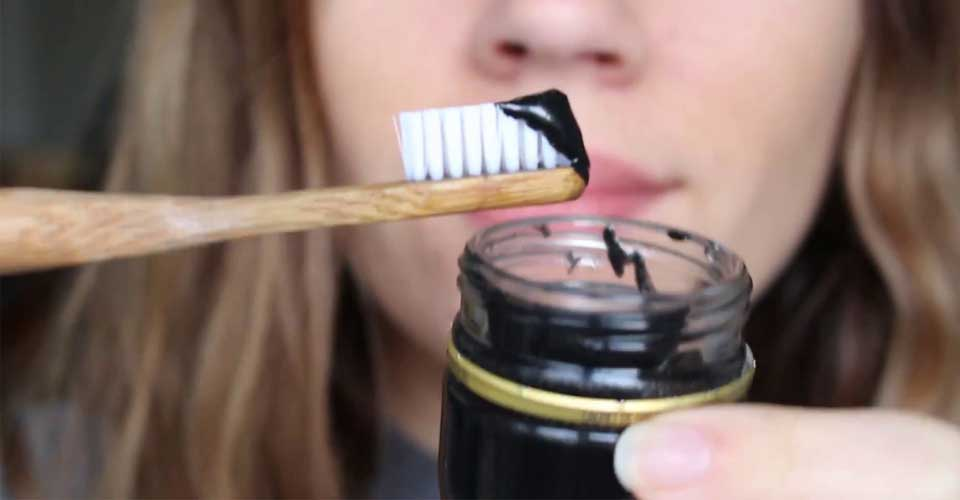Teeth Whitening Charcoal Toothpaste