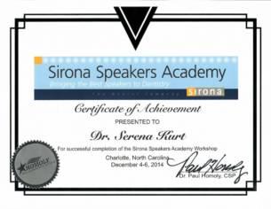 SIRONA SPEAKERS ACADEMY
