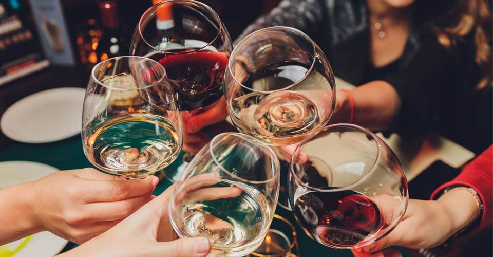 Wine kills germs